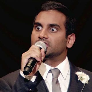 Getting Randy with comedian Aziz Ansari! INTERVIEW