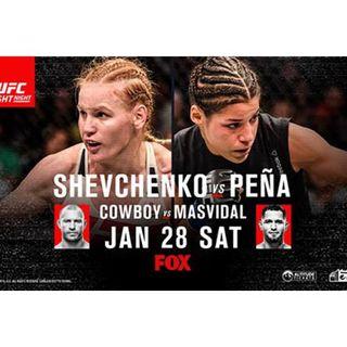 UFC on Fox: Shevchenko vs. Peña (Alternative Commentary)