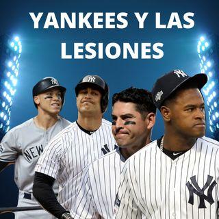 Una lluvia de lesiones en los Yankees de Nueva York
