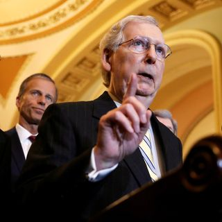 MITCH MCONNELL BLOCKS ELECTION SECURITY BILL