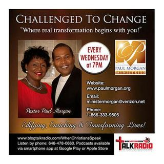 """Challenged To Change"" New Year's Day with Pastor Paul Morgan"