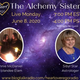 The Alchemy Sisters with Professional Astrologer Sibyl Star