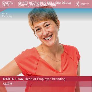 Marta Luca, Head of Employer Branding | Snam