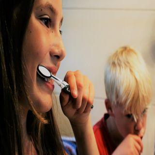 La higiene bucal en niños