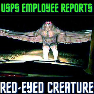USPS Employee Reports Seven-Foot-Tall, Red-Eyed Creature at O'Hare International Airport