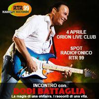 Dodi Battaglia spot Orion Live Club