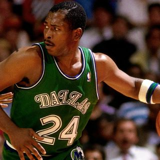 NBA Champ Mark Aguirre Host Mark On The Mark