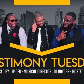 Testimony Tuesday Radio with Special Guest Tweet!
