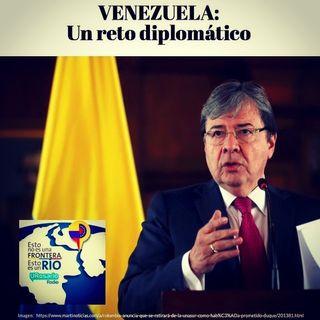 Venezuela un reto diplomático