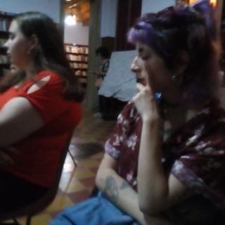 Néstor O Salgado cuenta un cuento una narrativa en Guaminí