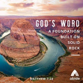 The Foundation of God's Word