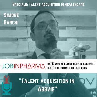 Simone Barchi, Talent Acquisition in ABBVIE
