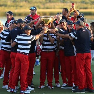 USA Dominates Presidents Cup