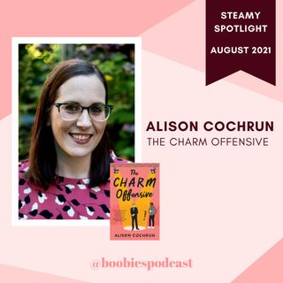 Steamy Spotlight: Interview with Alison Cochrun