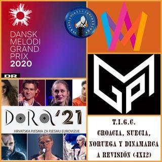 T.I.G.C. Croacia, Suecia, Noruega y Dinamarca a revisión (4x12)