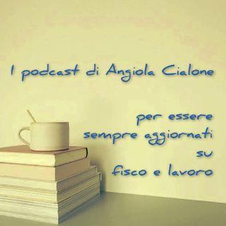 Episodio 28 - Il podcast di Angiola Cialone - Contabilizzazione CFP