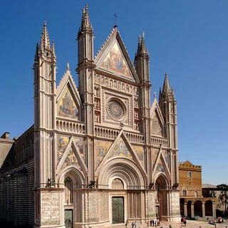 100 - Il Duomo di Orvieto. Miracolo della cristianità