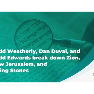 Todd Weatherly Dan Duval and Todd Edwards Break Down Zion, New Jerusalem, Living