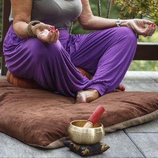 Meditación y oración al aire libre