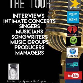 THE TOUR: Host AYANNA HOLLOMON