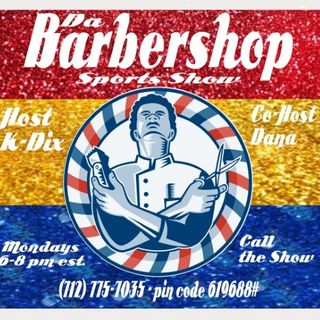 Da Barber Shop Sports Show S1 Esp 7 Nov 5th 2018
