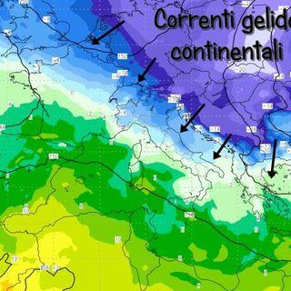Previsioni meteo 12-14 febbraio. Clima gelido ma con tempo stabile