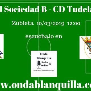 Real Sociedad B - CD Tudelano en directo