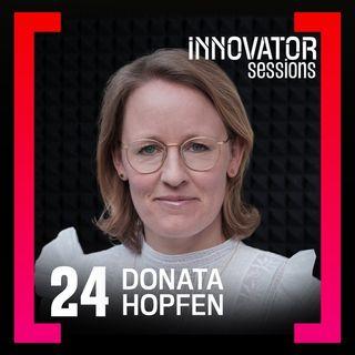 Gründungsexpertin Donata Hopfen erklärt, wie du dich im Leben durchsetzen kannst