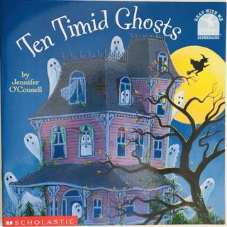 Cuento 10 Timid Ghosts (in English)