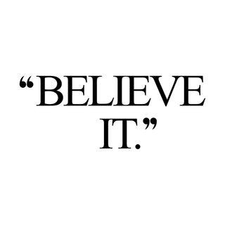 Believe It or Not!- (Pre-Rec)