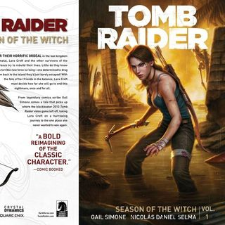 Source Material #154: Tomb Raider Comics: Season of the Witch (Dark Horse, 2014)