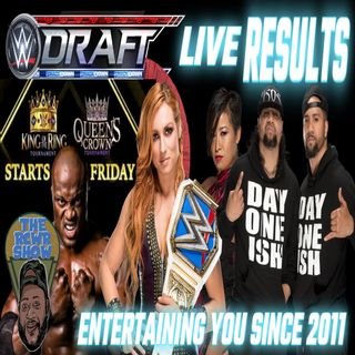 Episode 867-WWE Draft Complete Post Show | R.I.P Alan Kalter of Late Show | The RCWR Show 10/4/21