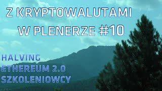 Z kryptowalutami w plenerze #10 | 30.04.2020 | Halving, Ethereum, Szkoleniowcy