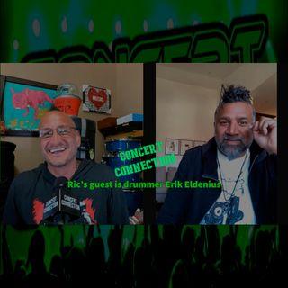 TCC Mar 17 2021 Ric's guest is Erik Eldenius drummer for Billy Idol