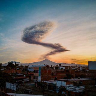 Cae ceniza en ocho municipios de Morelos