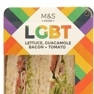 Funny tea, LGBT Sandwich, M&S, bins, buffets, vegan food. Ep 95