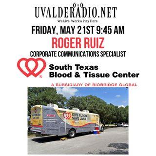 Roger Ruiz / South Texas Blood & Tissue Center