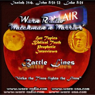 Warn Radio Advocacy, Persecuted Church, America focus, Israel lunar Bible, Rwanda forgiveness, Riches to Richer, more Gospel News
