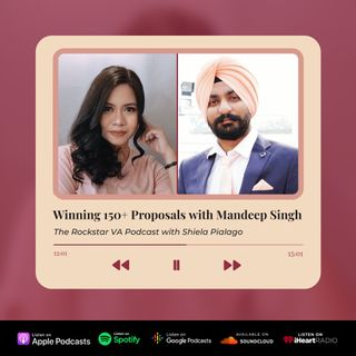 EP 12 - Winning 150+ Proposals with Mandeep Singh