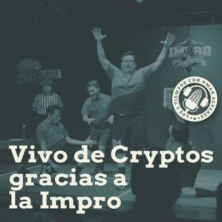 E10T1 - Vivo de Cryptos gracias a la Impro