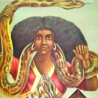 El hombre, la liebre y la serpiente 👩🏾🦲🐰🐍 Fábula africana - Cuento africano con valores para niños