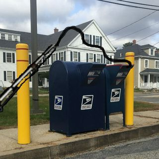 Foxborough Police: Thieves Using Fishing Poles To Steal Mail