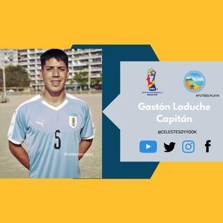 Ep. 005 Entrevista a Gastón Laduche. Fútbol Playa Uruguay