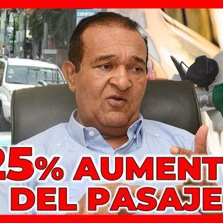 PRETENDEN SUBIR EL PASAJE HASTA UN 25% POR AUMENTO DE LOS COMBUSTIBLES