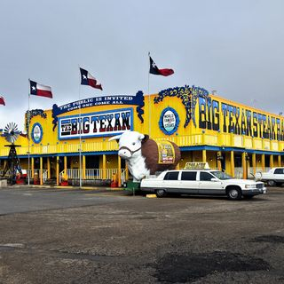 A Taste Of The Old West At The Big Texan Steak Ranch