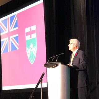 The Honourable Victor Fedeli, Minister of Finance Nov 6 2018