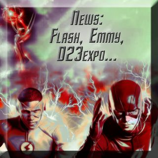 News settimana: Flash, Emmy, D23expo, Lucifer...