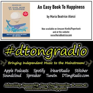 #MusicMonday on #dtongradio - Powered by 'An Easy Book to Happiness' on Amazon