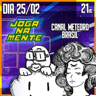 Álvaro Borba e Ana Lesnovski - Canal Meteoro Brasil - Joga Na Mente