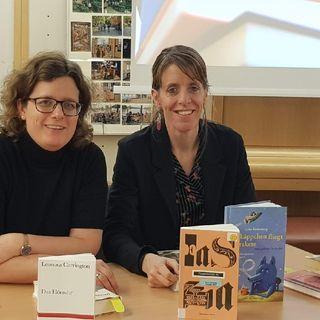 7.1. Sonja Longolius und Janika Gelinek (Literaturhaus Berlin) im Gespräch über Bücher, die sie beeindruckt haben